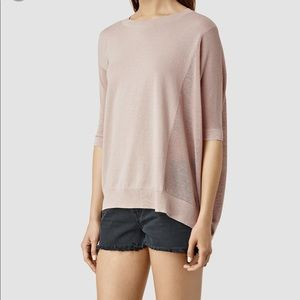 All Saints Cast Jumper Top